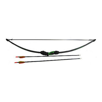 Lil' Sioux Junior Recurve Bow Set, Black