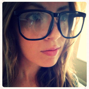 Vintage Coachella Hipster Urban Eyeglasses Retro Black Red Clear Teal Turquoise Peach Brown