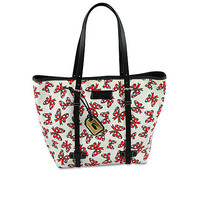 Disney Minnie Mouse Bow Tote by Dooney & Bourke - Medium - White | Disney Store