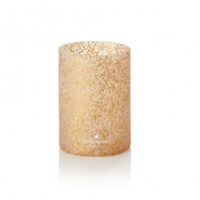 Kate Spade Let's Chill Gold Glitter Drink Cozy