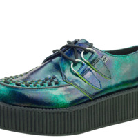 Blue Green Shimmer Creepers