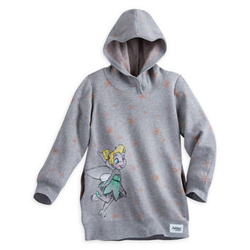 Original Disney Store Animator's Collection Tinker Bell Hoodie Sweater Girls 4, 5/6