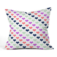 DENY Designs Caroline Okun Heart Throw Pillow | zulily