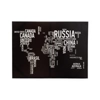 Text Me the World Wall Art