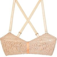 Lonely Hearts Apricot Softcup Bra