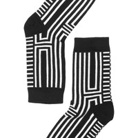 Polly Sock Stripes | Underwear | Monki.com