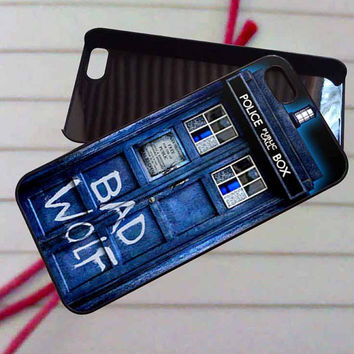 Bad Wolf Doctor Who - case iPhone 4/4s,5,5s,5c,6,6+samsung s3,4,5,6