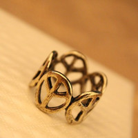 New Arrival Jewelry Shiny Gift Stylish Metal Hollow Out Ring [6586193351]