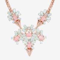 Jewelled arrow statement necklace - Pink | Jewellery | Ted Baker ROW