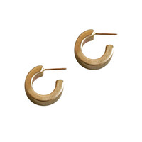Corte Hoop Earrings