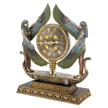 Park Avenue Collection Wings Of Isis Clock