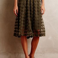 Arietta Skirt by Conditions Apply Moss