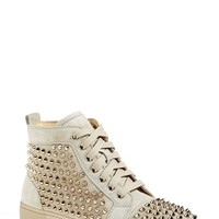 Women's Christian Louboutin 'Louis' Spiked