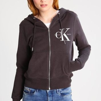 ESBON CK Calvin Klein Fashion Sport Cardigan Jacket Coat Sweatshirt
