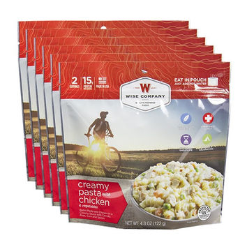 Creamy Chicken Pasta Cook in the Pouch - 6 PACK