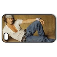 E-Cover Latest Hard Cases Cover Johnny Depp Collection for iPhone 4,4S E-Cover-1694