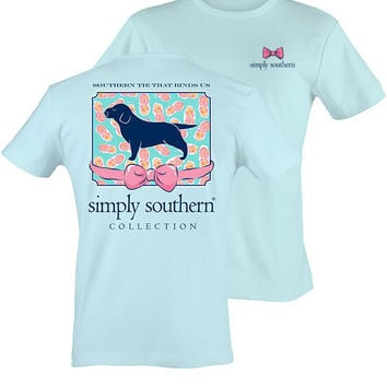 Simply Southern Southern Tie That Binds Us Tee - Blue