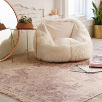 Sami Floral Printed Rug | Urban Outfitters