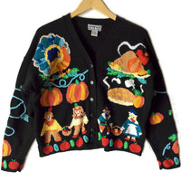 Live Turkeys – Dead Turkeys Tacky Thanksgiving Ugly Sweater
