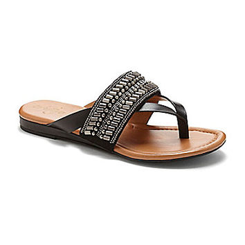Arturo Chiang Lyra Beaded Sandals