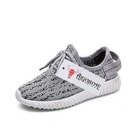 New Girl Boy Casual Sneakers Breathable Athletic Running Sports Shoes (Toddler/Little