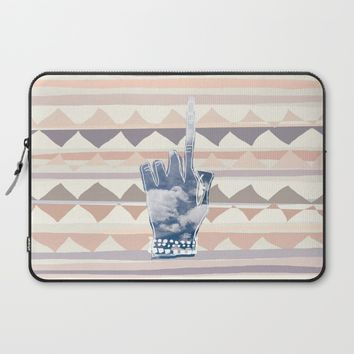 The One #society6 #tribal #home #pink #dormroom #style Laptop Sleeve by Yaansoon | Society6