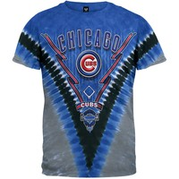 Chicago Cubs - Logo V-Dye T-Shirt