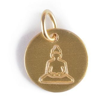 Stamped Buddah Charm
