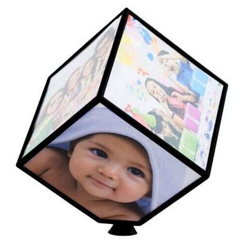Revolving Cube Photo Frame