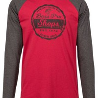 Bass Pro Shops Graphic Raglan Long-Sleeve Shirt for Men | Bass Pro Shops