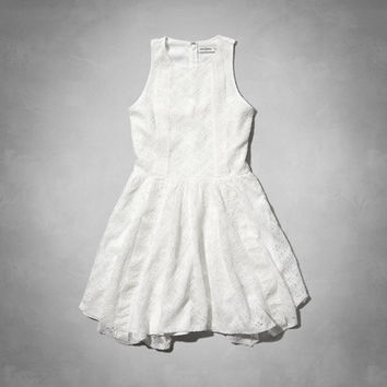 lace handkerchief dress