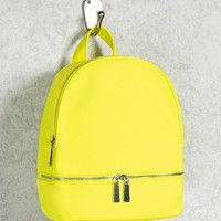 Neon Nylon Mini Backpack