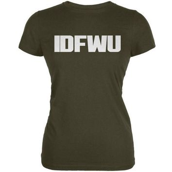 PEAPGQ9 IDFWU Army Juniors Soft T-Shirt