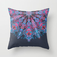 Escapism Throw Pillow by micklyn