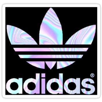 Adidas Logo Holographic by crazyzoc