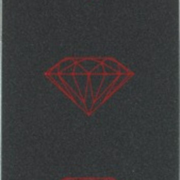 Diamond Brilliant Black/Red Grip 1sheet