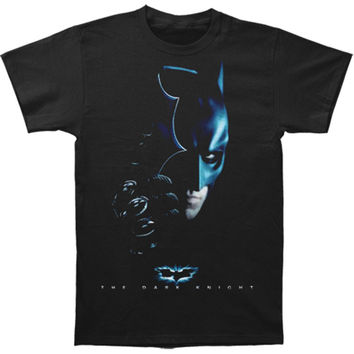 Batman Men's  T-shirt Black Rockabilia