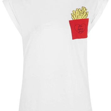 PETITE Fries Before Guys Tee By Tee and Cake - Topshop
