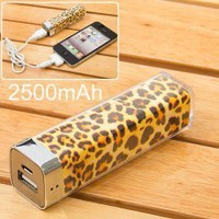 Leopard External Battery from CATPRINCESS CLOTHING