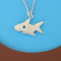 Shark Animal Necklace Jewelry sterling silver kids teen girl women boy jewelry necklace gift mom Jewelry mother's day