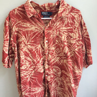polo ralph lauren hawaiian shirt
