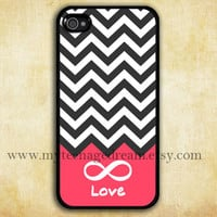 chevron iphone 4 case, infinity iphone 4 case, Forever love iphone 4 case, black iphone 4s case