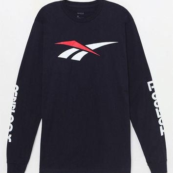 DCCKYB5 Reebok Graphic Long Sleeve T-Shirt