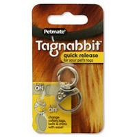Petmate Tagnabbit Tag Ring for Pets | Dog - ID Tags Collar Ornaments | Pawtastic Pet Supplies