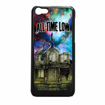 All Time Low Pierce The Veil Galaxy Design iPhone 5c Case