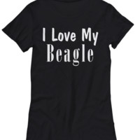 Love My Beagle - Women's Tee
