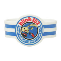 Blink-182 Crappy Punk Rock Die-Cut Rubber Bracelet