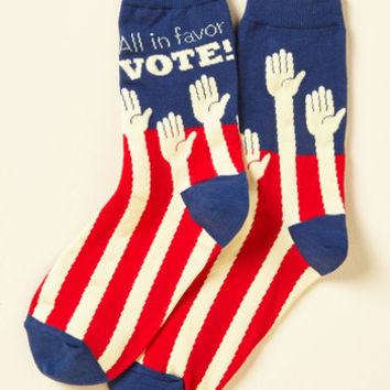 Poll Model Socks | Mod Retro Vintage Socks | ModCloth.com