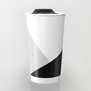 Monochromatic Travel Mug by ARTbyJWP