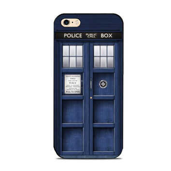 Dr. Who Tardis Police Box Phone Case For iPhone 7 7Plus 6 6s Plus 5 5s 5c SE 4s